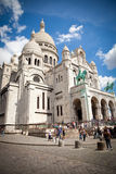 Sacre Coeur of Paris stock images