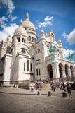 Sacre Coeur of Paris Stock Images