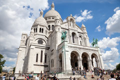 Sacre Coeur of Paris stock photos