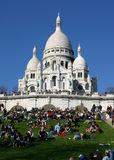 Sacre Coeur of Paris Royalty Free Stock Image