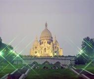 Sacre Coeur, Paris Arkivfoton