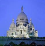 Sacre Coeur, Paris Fotografering för Bildbyråer