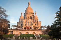 Sacre Coeur, Paris Imagem de Stock Royalty Free
