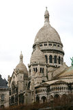 Sacre Coeur, Paris. Cathedral of Sacre Coeur at Montmartre in Paris Royalty Free Stock Photos