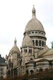 Sacre Coeur, Paris. Cathedral of Sacre Coeur at Montmartre in Paris royalty free stock photos