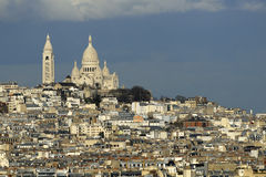 The Sacre-Coeur, Paris. Stock Image