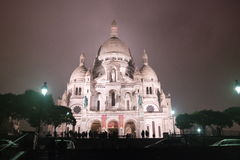 Sacre Coeur, Paris Foto de Stock Royalty Free