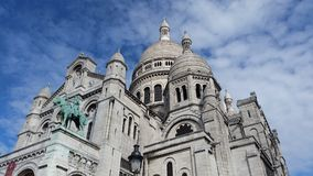Sacre Coeur Paris Stockfoto