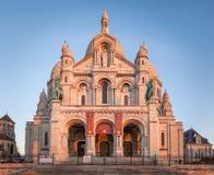 Sacre Coeur, Paris. Sacre Coeur Basilica at Montmartre, Paris Stock Photo