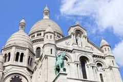 Sacre Coeur in Paris Royalty Free Stock Image