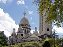 The Sacre Coeur of Paris Stock Image