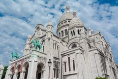 Sacre Coeur, Paris, Frace Royalty Free Stock Photo