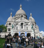 Sacre Coeur in Paris, France Stock Image