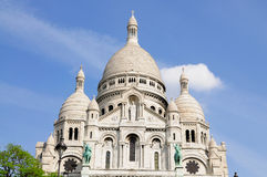 Sacre Coeur in Paris, France Royalty Free Stock Photo