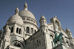 Sacre Coeur in Paris, France Stock Images