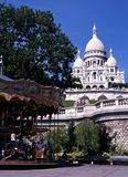 Sacre Coeur, Paris, France. Stock Images