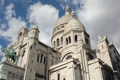 Sacre Coeur, Paris, Frankreich Lizenzfreies Stockbild
