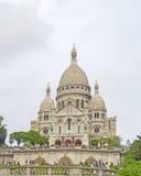 Sacre-Coeur Paris, Frankrike Fotografering för Bildbyråer