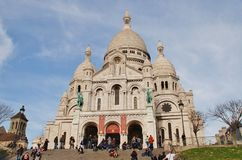 Sacre Coeur, Paris Royalty Free Stock Photography