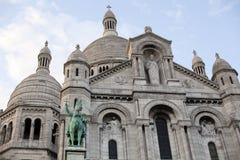 Sacre Coeur in Paris Royalty Free Stock Images