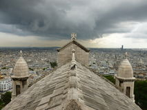 Sacre-Coeur Paryż Zdjęcia Royalty Free