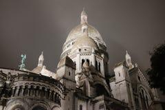 sacre coeur Paryża Fotografia Royalty Free