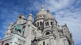 sacre coeur Paryża Zdjęcie Stock