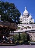Sacre Coeur, Paryż, Francja. Obrazy Stock