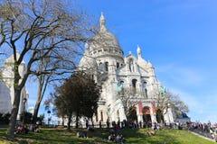Sacre Coeur Roman Catholic Church i Paris Royaltyfria Foton