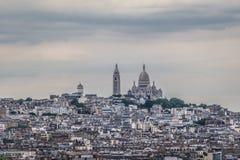 Sacre Coeur skyline Royalty Free Stock Image