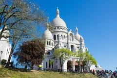 Sacre coeur. Spring in Paris Stock Images