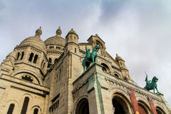 Sacre-coeur von montmartre, Paris, Frankreich Lizenzfreie Stockbilder