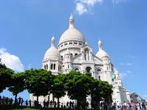Sacre-coeur von Paris Stockfotos