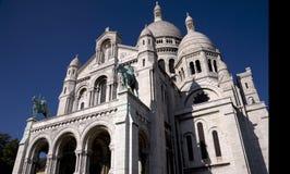 Sacre Coeur - vordere Erhebung Stockbild