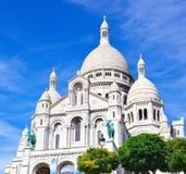 Sacre Coeur w Paryż Zdjęcia Royalty Free