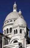 Sacre Couer在巴黎,法国 库存照片