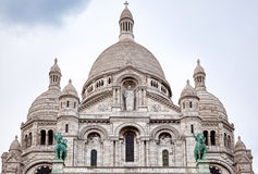 Sacre Couer大教堂 免版税库存图片