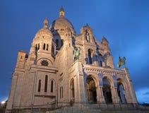 巴黎- Sacre-couer教会 免版税图库摄影