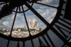 Sacre Couer, Παρίσι Στοκ εικόνες με δικαίωμα ελεύθερης χρήσης