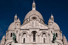 Sacre Couer Stock Photography
