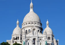 Sacre Couer Basilica Paris Royalty Free Stock Photo