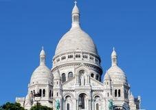 Sacre Couer bazylika Paryż Zdjęcie Royalty Free