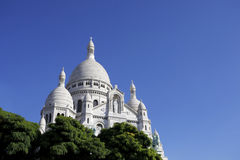 Sacre Couer Royalty Free Stock Photo