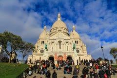 Sacre couer montmartre, Paryż, Francja Obrazy Stock
