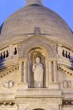 Sacre-couer in Paris -detail Stock Photo
