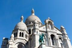 Sacre Couer, Paryski Francja Obrazy Royalty Free