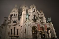 The Sacre Couer Stock Images