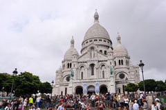 Sacre katedra Coeur Fotografia Stock