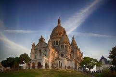 Sacre katedra Coeur Obraz Royalty Free