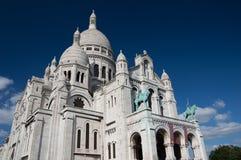 Sacre katedra Coeur Obrazy Royalty Free